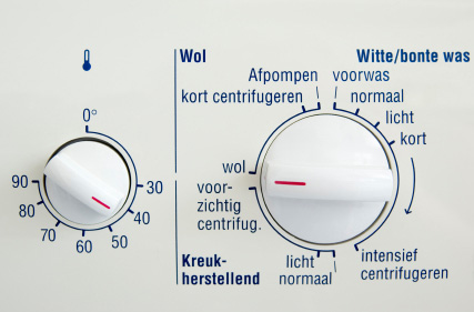 Manuellt programrvred till Bosch tvättmaskin