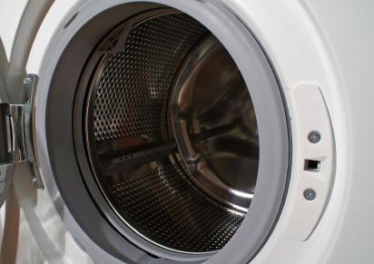 Väl rengjord tvättmaskin