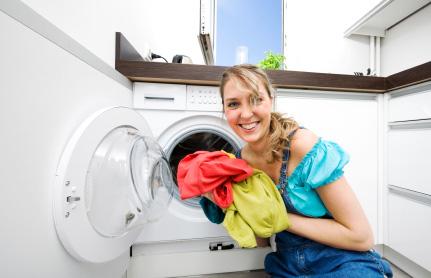 Tvättmaskin frontmatad